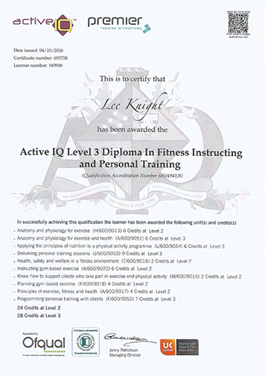About Knights Fitness - Knights Fitness